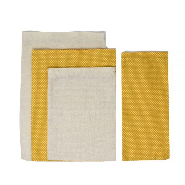 комплект текстилни торбички за пазар